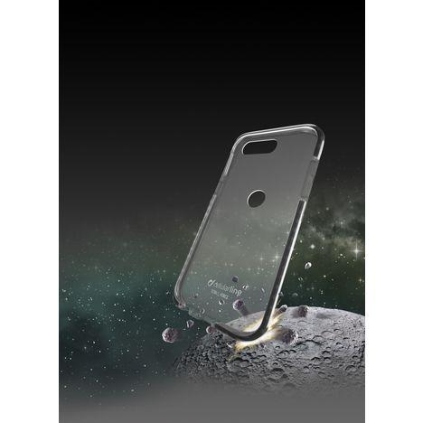 CELLULARLINE Coque Tetra Force Shock pour P Smart - Transparent et noir