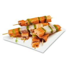 brochette de saumon et lieu 300g