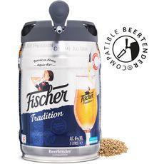 FISCHER Bière blonde tradition d'Alsace 6% fût pression 5l