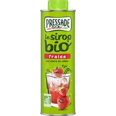 Pressade sirop fraise bio bidon 60cl