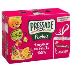 Fruité pocket abc multifruits 8x20cl