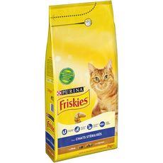FRISKIES Croquettes dinde légumes pour chat stérilisé 2kg