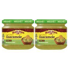 Old El Paso dip guacamole sauce 2x320g
