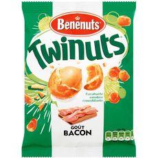 Bénénuts Twinuts cacahuètes enrobées goût bacon 150g