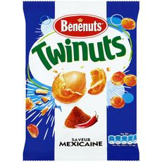 Bénénuts Twinuts cacahuètes enrobées saveur mexicaine 150g