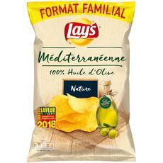 Lay's chips recette méditeranéenne 100%huile d'olive 220g