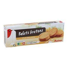 Auchan palets bretons 125g