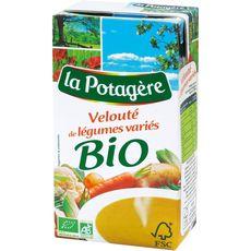 La Potagère bio velouté légumes variés 1l
