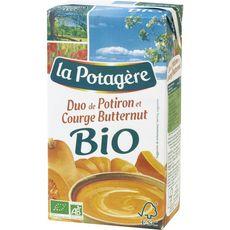 La Potagère duo potiron et potimarron bio 1l