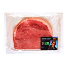 jambon cuit bio supérieur avec couenne tranche x2 -100g