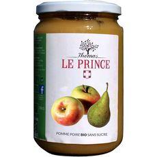 THOMAS LE PRINCE Dessert bio pomme poire sans sucre, en bocal 700g