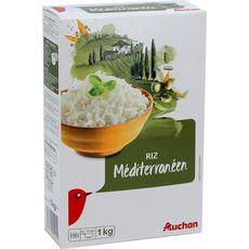 Auchan riz long méditerranéen 1kg