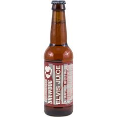 BREWDOG Bière blonde aromatisée Elvis Juice 6,5% bouteille 33cl
