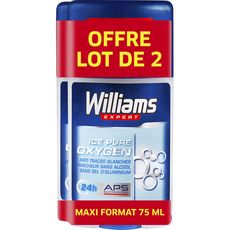 Williams déodorant homme stick ice blue 2x75ml