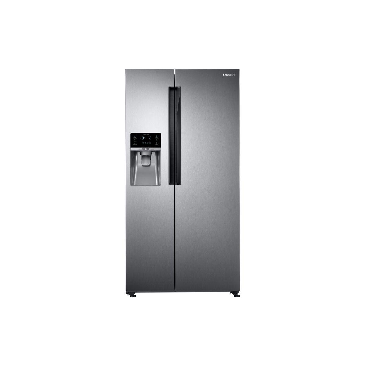 Réfrigérateur américain RS58K6307SL - 575 L, Froid ventilé