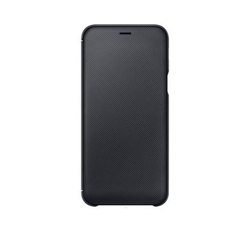 SAMSUNG Etui folio porte carte pour Galaxy A6 - Noir