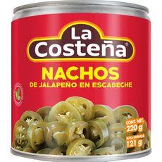 La Costena piments nachos de jalapeño en escabèche 220g