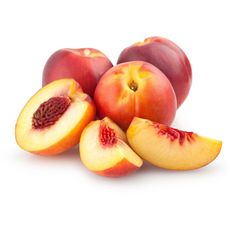 Nectarines blanches mûres à point 4 pièces