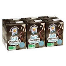 LEGALL Legall lait chocolaté bio 6x20cl