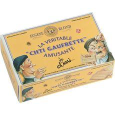 EUGENE BLOND Biscuits ch'ti gaufrettes amusantes à la vanille 415g