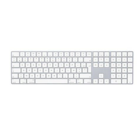 APPLE Clavier sans fil MQ052F/A - Azerty - Universel - Blanc