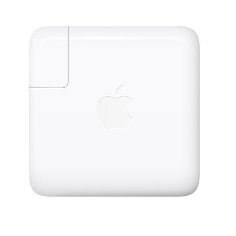 APPLE Chargeur secteur pour Macbook pro 15 pouces - USB-C - 87 W - Blanc