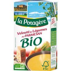 La Potagère velouté de légumes au parmesan bio 1l