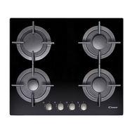 CANDY Table de cuisson à gaz CVG64SGNX - 60 cm, 4 Foyers