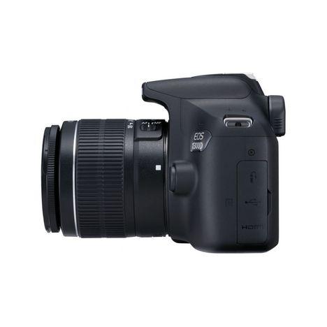 d6f4e66737 ... CANON Appareil Photo Reflex - EOS 1300D - Noir + Objectif 18-55 mm + ...
