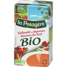 La Potagère bio velouté de légumes saveur du sud 1l