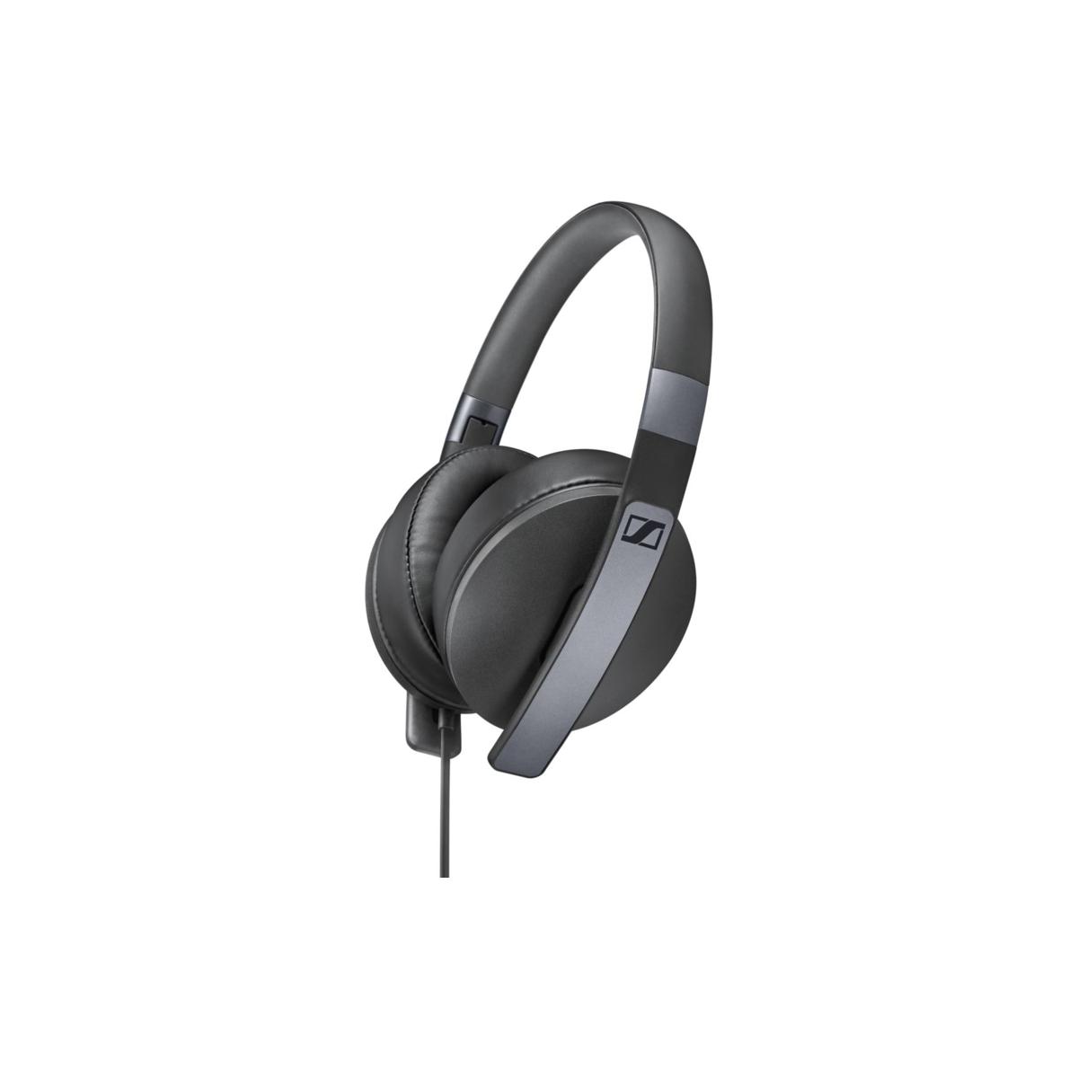 Casque Audio noir  HD 4.20s Jack 3,5 mm Micro , télécommande intégrée ,