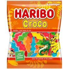 HARIBO Croco Bonbons gélifiés 280g