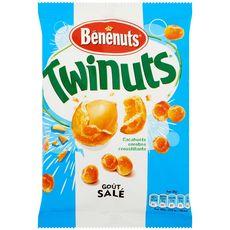 Bénénuts Twinuts cacahuètes enrobées goût salé 150g