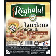 REGHALAL Reghalal halal Lardon fumé de volaille halal 150g 150g