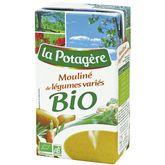 La Potagère mouliné de légumes variés bio 1l