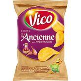 Vico chips à l'ancienne saveur échalote 125g