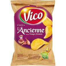 Vico Chips à l'ancienne saveur vinaigre échalote 125g