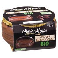 Marie Morin mousse choco bio 100g