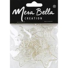 MESA BELLA Mesa Bella Décoration de table étoiles filantes argent x1 1 pièce