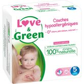 Love & Green couches junior 11/25kg taille 5 -x40