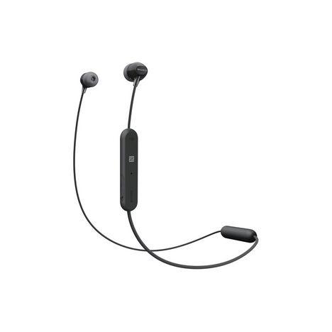 SONY Écouteurs sans fil Bluetooth - WIC 300 - Noir