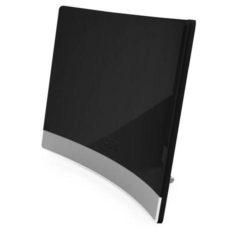 CGV Antenne d'intérieur incurvée - Noir