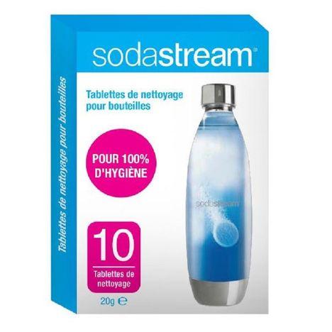 SODASTREAM Lot de 10 tablettes de nettoyage 30061954 pour Sodastream