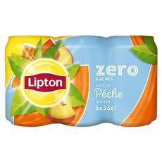 Lipton Ice Tea pêche light 6x33cl