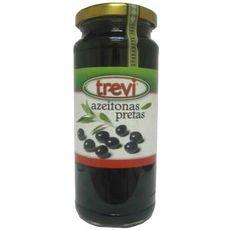 TREVI Olives noires entières 360g