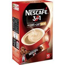 Nescafé 3en1 stick x10 -18g