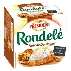 PRESIDENT PRESIDENT Fromage Rondelé aux noix de Dordogne 125g 125g