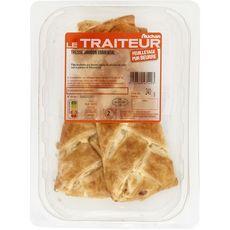 AUCHAN LE TRAITEUR Tresse jambon et fromage 2 pièces 240g