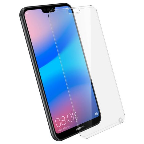 FORCEGLASS Protection d'écran pour Huawei P20 Lite - Transparent