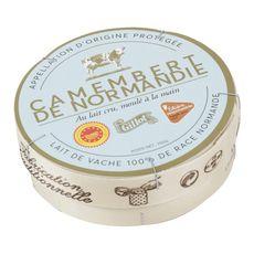 GILLOT Camembert moulé à la main AOP filière responsable 250g